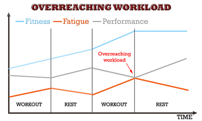 muscle and strength programming overreaching fitness fatigue model