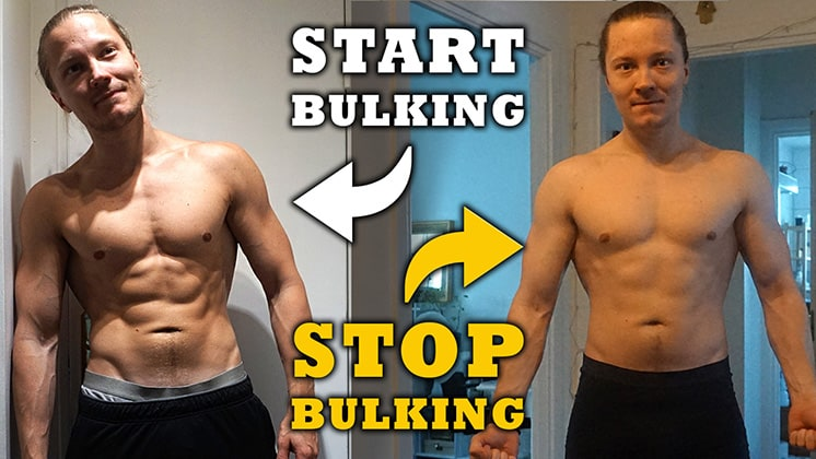 When To Stop Bulking And Start Cutting? – Iron Built Fitness