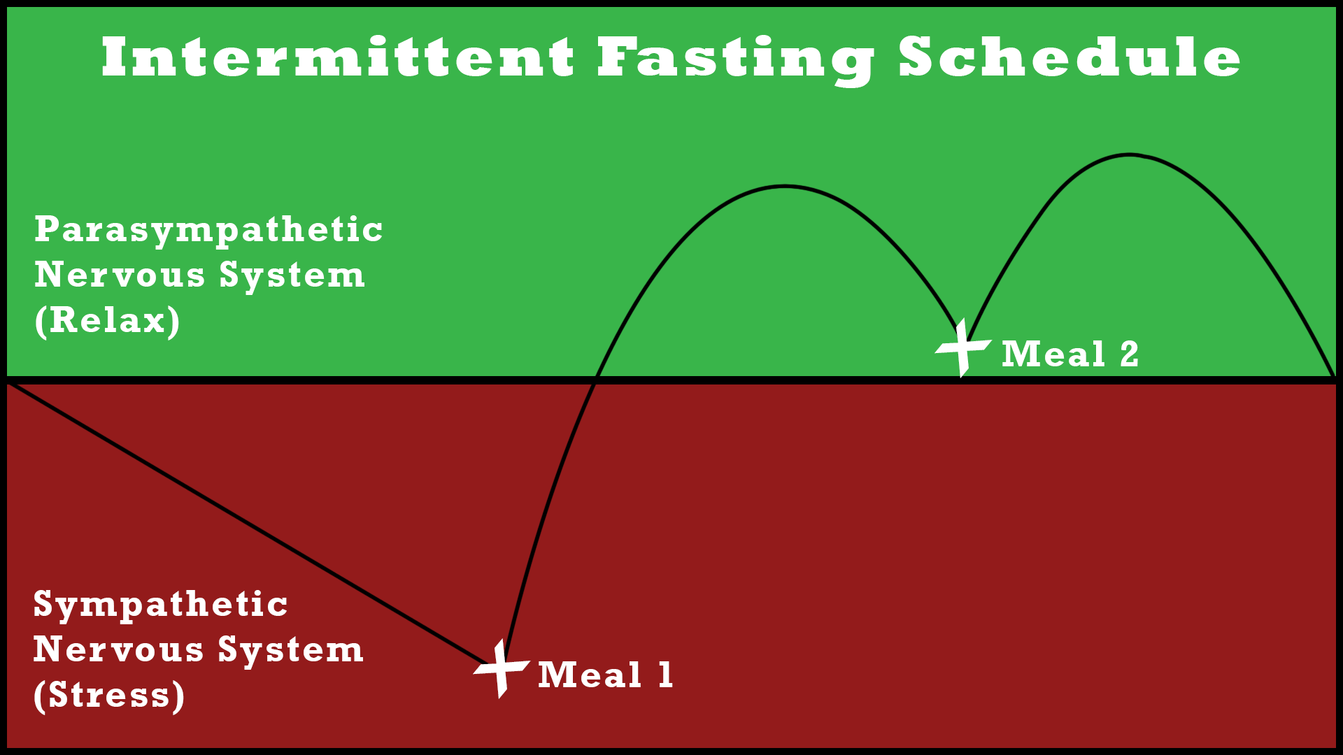 intermittent fasting schedule stress and relax