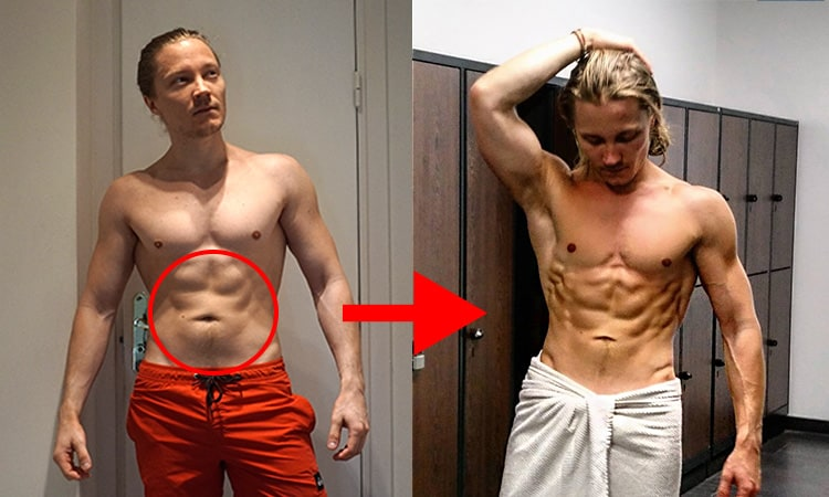 how-to-lose-stubborn-fat-transformation